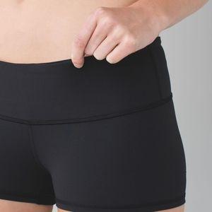 Lululemon boogie shorts size 8